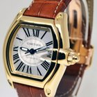 Cartier Roadster Automatic 18k Yellow Gold Mens Watch 2524