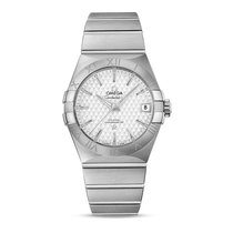 Omega Constellation Steel Silver Dial 123.10.38.21.02.003 Mens...
