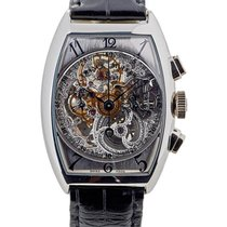 Franck Muller Cronografo In Platino Scheletrato Limited...