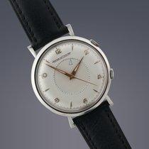 Jaeger-LeCoultre Vintage  Memovox steel manual alarm
