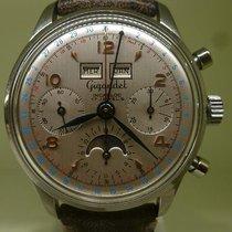 GIGANDET vintage chronograph triple date moon phases ref 2008...