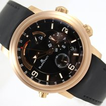 Blancpain LEMAN ALARM GMT 18K ROSE GOLD