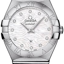 Omega Constellation Brushed 24mm 123.10.24.60.55.004