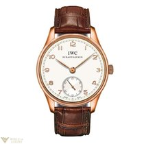 IWC Portuguese Automatic 18K Rose Gold Mens Watch
