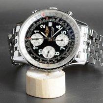 Breitling Old Navitimer II Chronometer Chronograph mit Stahlband