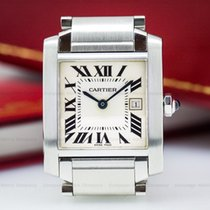 Cartier WSTA0005 Tank Francaise Quartz Mid Size SS (25070)