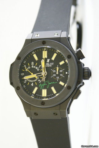 "Hublot BIG BANG "" AYRTON SENNA 2 "" LIMITED EDIT BIG BANG "" AYRTON SENNA 2 "" LIMITED EDITION 500PCS"