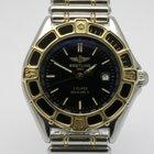 """Breitling """"Lady J"""" 18K gold/steel. Rouleaux bracelet"""