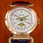 Invicta triple calendar moonphase Datora rare movable lugs