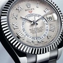 Rolex Sky-Dweller 18K Solid White Gold