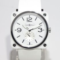 Bell & Ross BRSWHCER Ceramic white dial full set