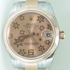 Rolex Datejust 31mm,Bicolor,steel rose gold,flower dial,unworn...