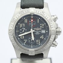 Breitling Avenger Bandit Military Strap Ti Deploying Buckle...