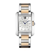 Cartier Tank Anglaise Automatic Ladies Watch Ref WT100025