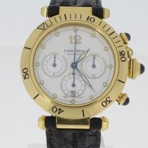 Cartier Pasha Chrono Glasboden
