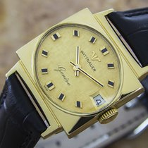 Wittnauer Geneve Manual Gold Plated Mens 1960`s Dress Watch D81