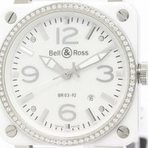 ベルアンドロス (Bell & Ross) Aviation Diamond Bezel Mop Dial...