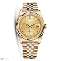 Rolex Oyster Perpetual Datejust Yellow Gold Ladies Watch