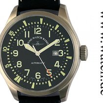 Zeno-Watch Basel Fellow Oversized Automatic Date Stahl 48mm