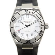 Hamilton 卡其海軍系列 Stainless Steel Silver Automatic H78615355