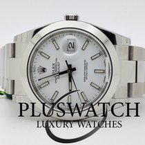 Rolex Datejust Oyster Perpetual 41mm White Dial