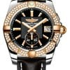 Breitling Galactic 36 Automantic Steel and Rose Gold Diamond...