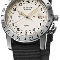 Glycine AIRMAN 1953 VINTAGE PURIST - 100 % NEW and NEVER WORN