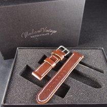 劳力士  (Rolex) Vintage Handmade Italian Leather Strap - Cocoa