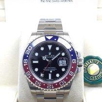 勞力士 (Rolex) 116719BLRO GMT Master II 18K WHITE GOLD RED BLUE...