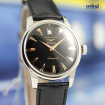 Longines Conquest Heritage Steel on Leather Automat. Watch...