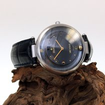 Bunz Moontime Herren Armbanduhr Edelstahl Ref. 37014332