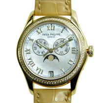 Patek Philippe New  Complications 18k Gold Diamond White...