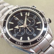 Omega Seamaster Planet Ocean Co Axial  Chronograph Full Set TOP