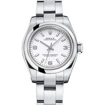 Rolex Oyster Perpetual 26 176200-WHTSAO White Arabic / Index...