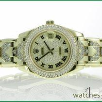 Rolex Pearlmaster Masterpiec 540 Diamonds orig. Box Paper