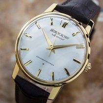Seiko Crown Special Diashock Solid 18k Gold Watch C1960 Eb152