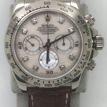 勞力士 (Rolex) 16519NG 18k WG Daytona with Original Diamond Pearl...