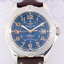 Breitling Aeromarine Colt GMT Automatic Chronometer blue dial Top
