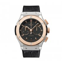 Hublot Classic Fusion Chronograph  18k Rose Gold Mens WATCH...