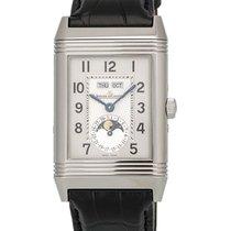 Jaeger-LeCoultre Stainless Grande Reverso Calendar Men's Watch...
