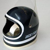 Heuer Jacky Ickx Helmet Box with orig. Jacky Ickx signature