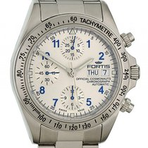 Fortis Official Cosmonauts Chronograph Silver Stahl Automatik...
