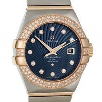 Omega Constellation Co-Axial Stahl/18kt Roségold Automatik...