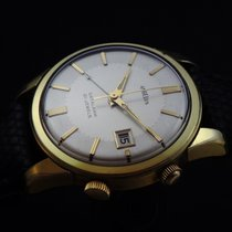 Angelus Vintage Datalarm Mechanical Watch