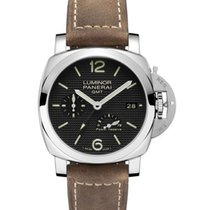 Panerai PAM00537 PAM 537 - Luminor 1950 GMT - 3 Days Power...