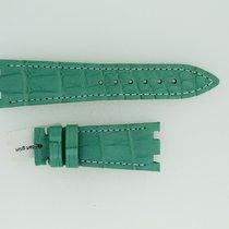 Audemars Piguet Lederband / Alligator / Mintgrün - 21/16 Länge...