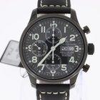 Zeno-Watch Basel NC Pilot Chronograph Automatic black PVD NEW
