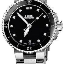 Oris Aquis Date Diamonds 36mm 01 733 7652 4194-07 8 18 01P