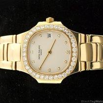 Patek Philippe Nautilus Lady's Yellow Gold and Diamonds 4700