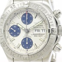 Breitling Polished Breitling Chrono Super Ocean Steel Automati...